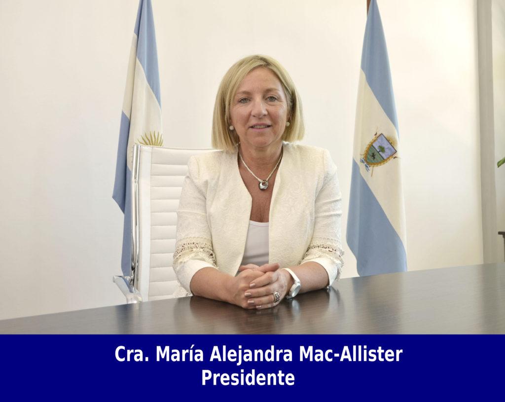 Cra. María Alejandra Mac-Allister